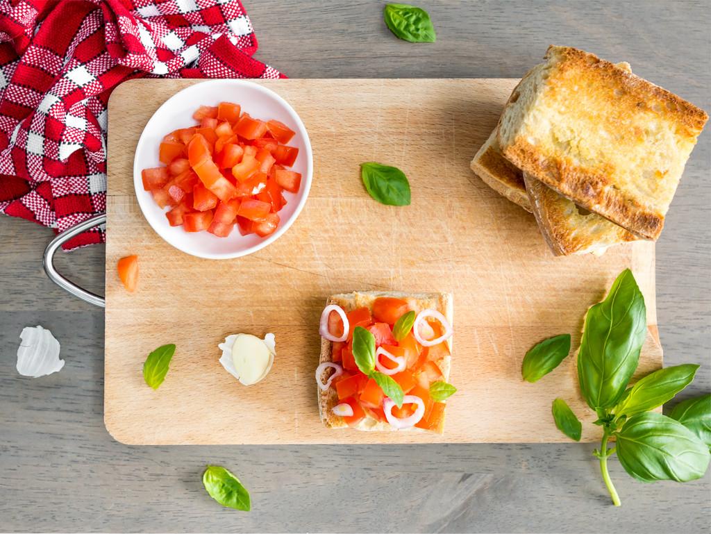 delicious bruschetta #recipe & notes on sicily