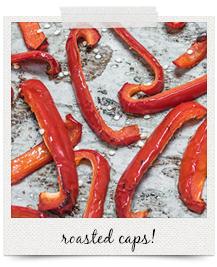 roasted capsicum | curatedlifestudio.com
