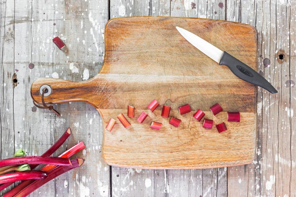 food preparation, rhubarb | curated life studio