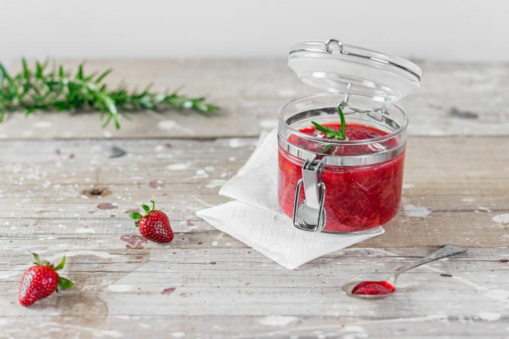 rhubarb & strawberry compot | curatedlifestudio.com