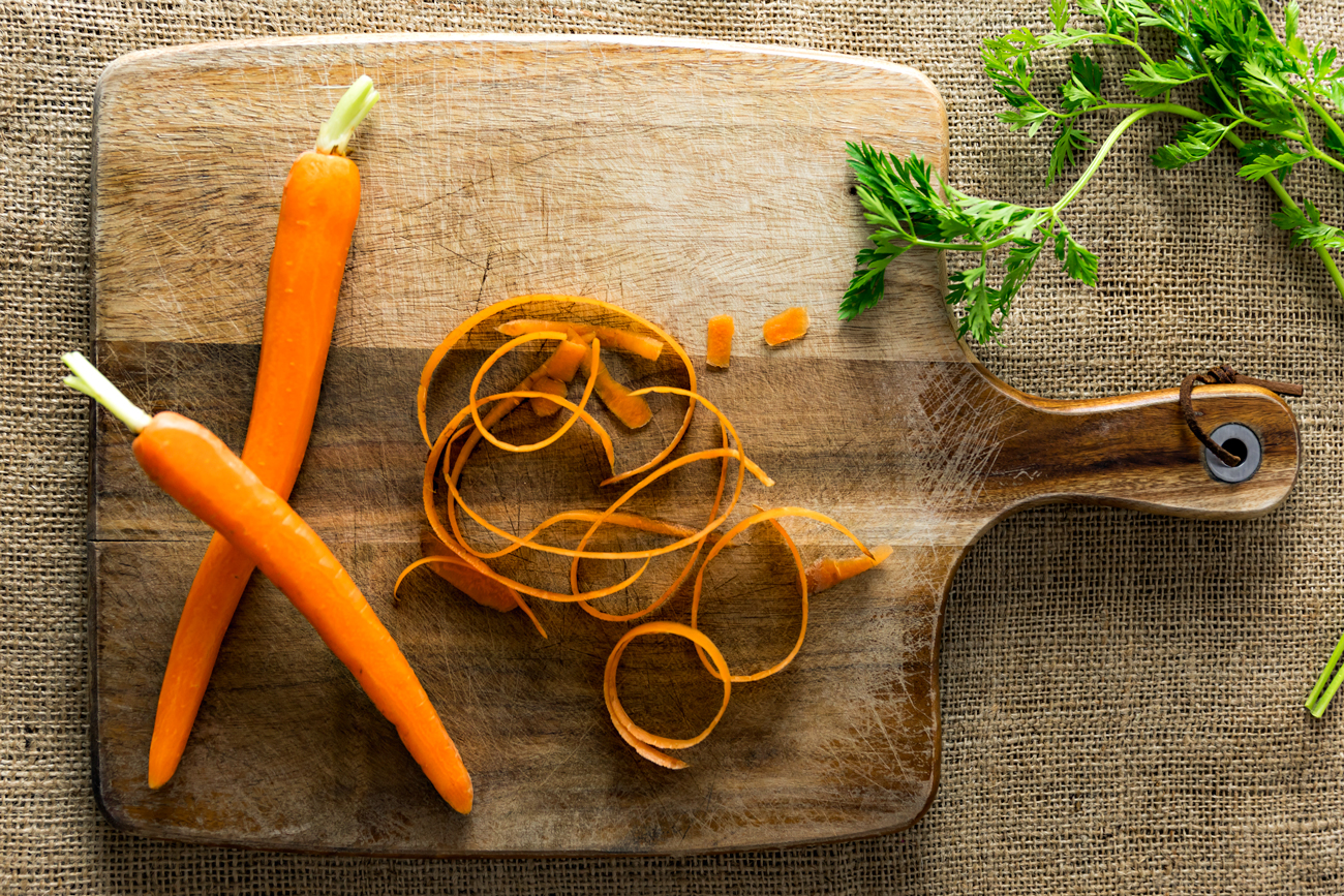 roasted carrot salad | www.curatedlifestudio.com